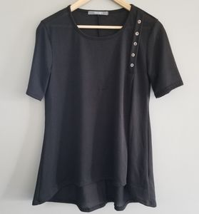 Coin 1804 short sleeve knit top